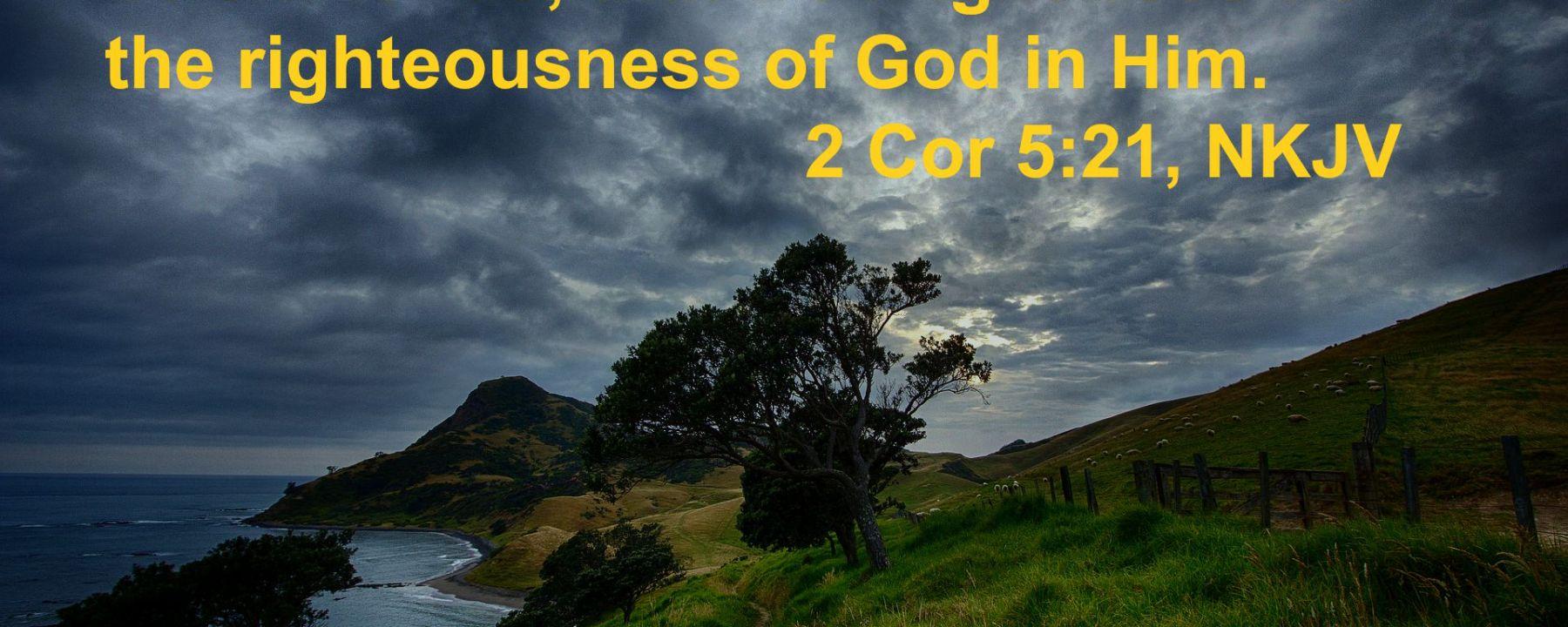 2 Cor 5:21